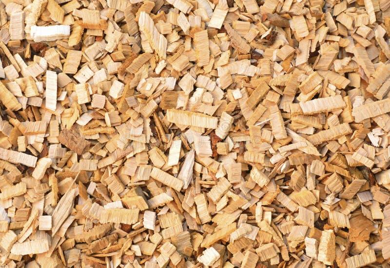 Los pedazos de madera del aliso-árbol para fumar o reciclan Textura para el fondo imagen de archivo