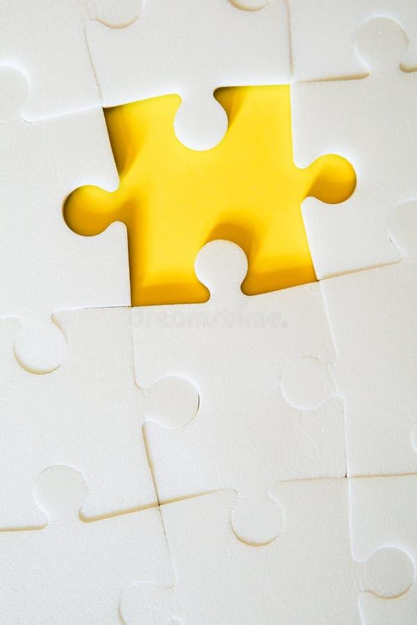 Los pedazos del rompecabezas juntaron ilustración del vector