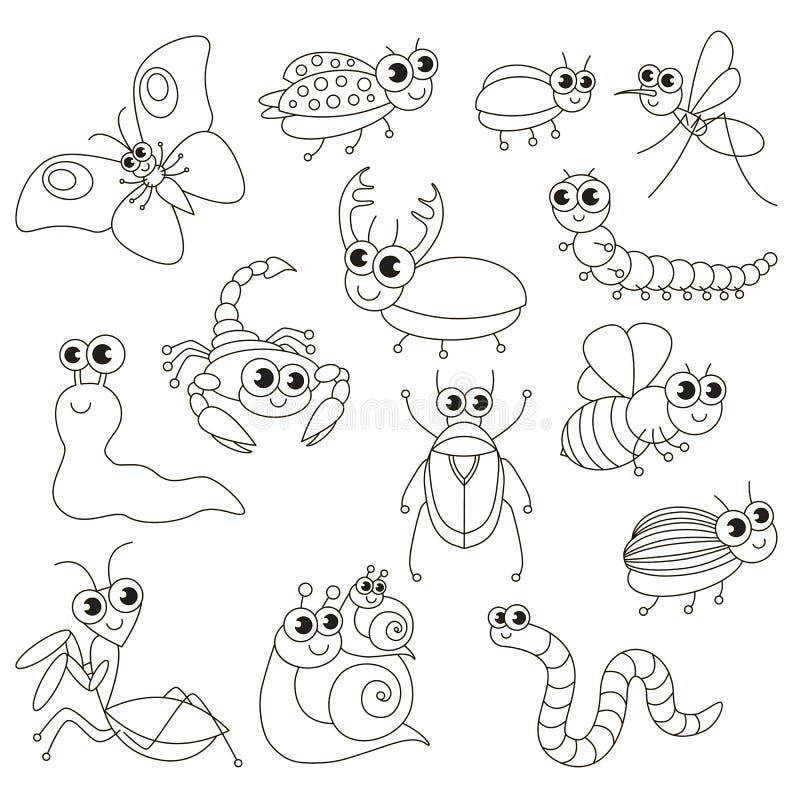 Los Pequeños Insectos Lindos Fijaron, La Página Grande Que Se ...