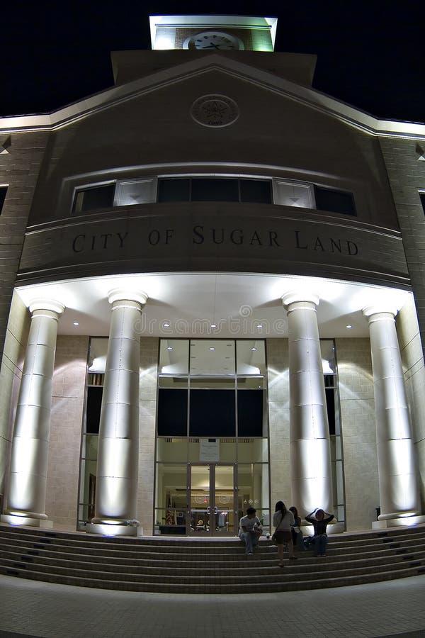 Los pilares del gobierno municipal imágenes de archivo libres de regalías