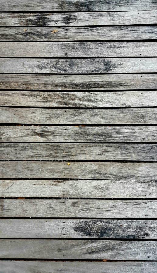 Los pisos de madera mojados con color del vintage entonan para la textura y el backgrou imagen de archivo libre de regalías