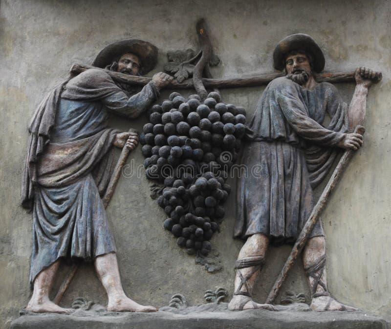 Los portadores de la uva imagen de archivo