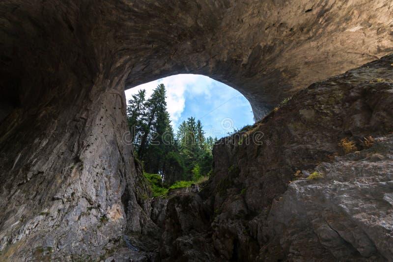 Los puentes maravillosos - fenómeno natural de la roca en el Rhodope M imagen de archivo