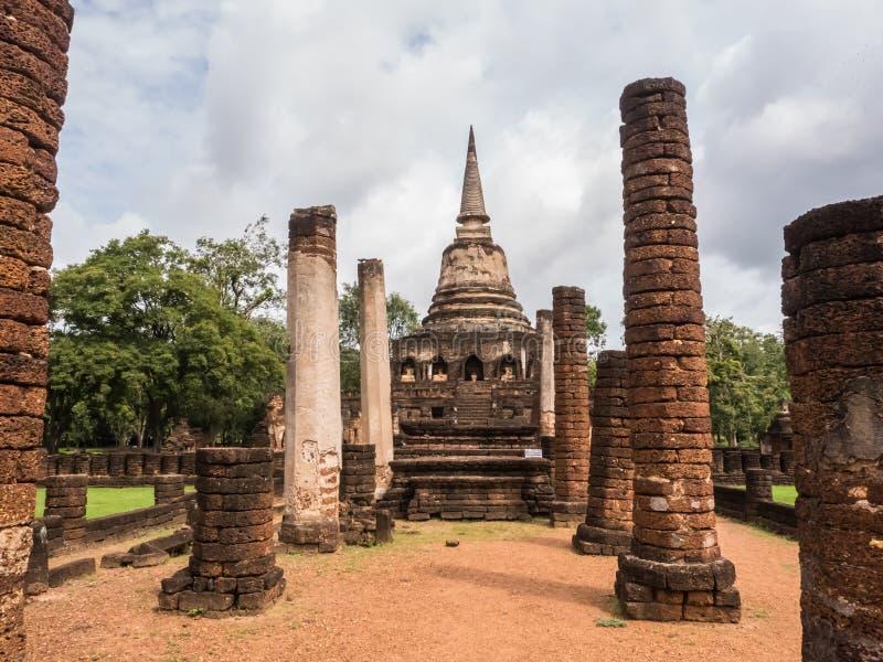 Los rastros de historia de las naciones Tailandia, ruinas, creen de buddhism imagen de archivo libre de regalías