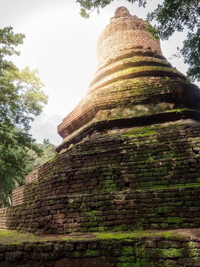 Los rastros de historia de las naciones Tailandia, ruinas, creen de buddhism fotos de archivo