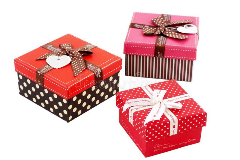 Los regalos del amante imagen de archivo libre de regalías