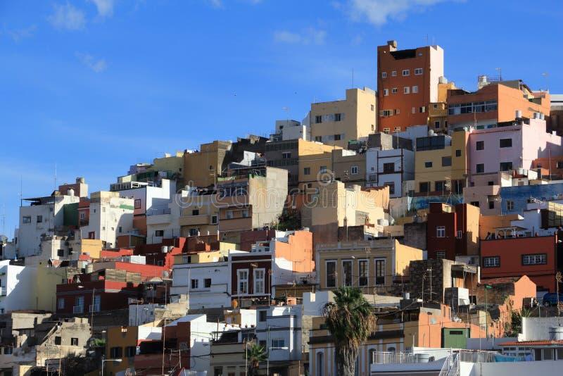 Los Riscos, las palmas zdjęcie royalty free