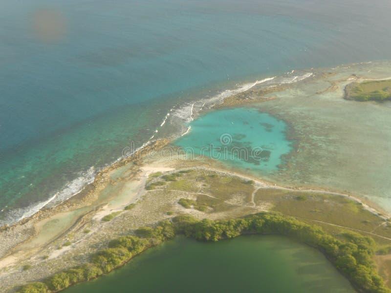 Los Roques海滩,委内瑞拉 免版税图库摄影