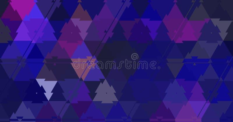 Los rosas y los azules de los triángulos del fractal modelan el expolosion del fondo fotos de archivo libres de regalías