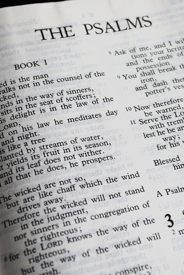 Los salmos imagenes de archivo