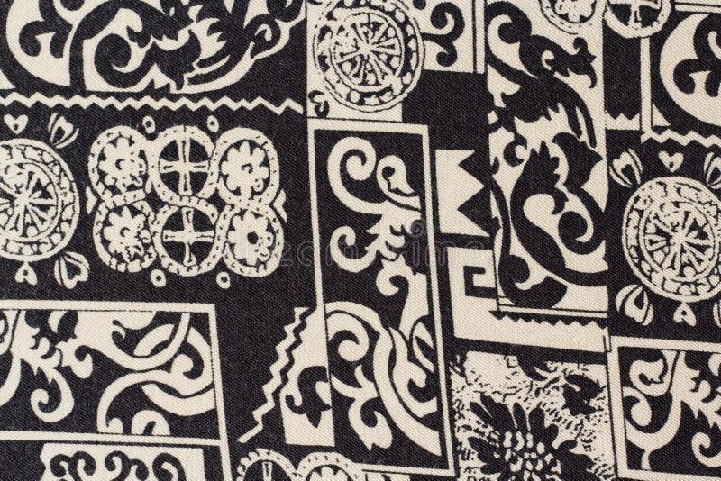 Los sarong texturizan, tela del taparrabos fotografía de archivo
