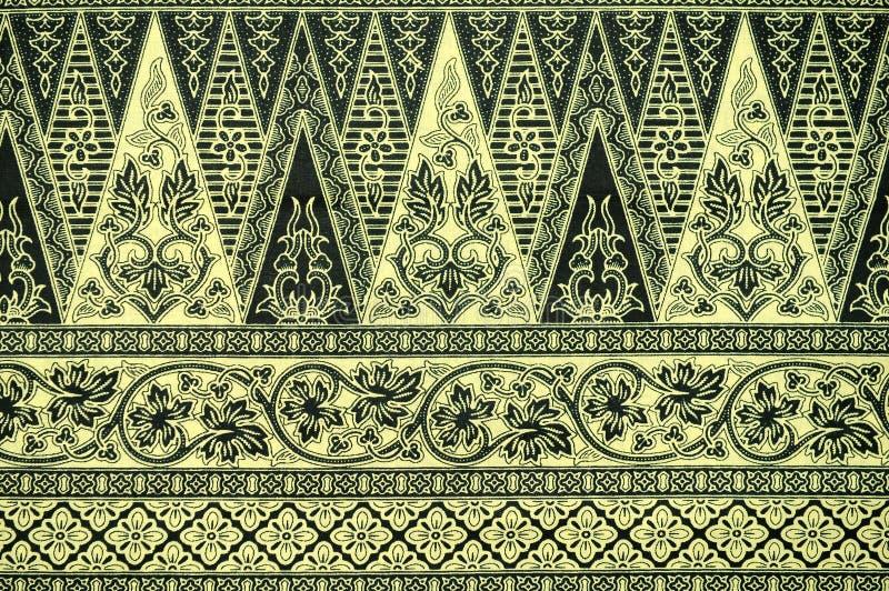 Los sarong del batik modelan el fondo fotos de archivo