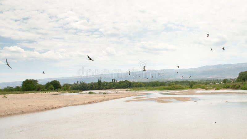 Los-Soßenfluß in Nono, Cordoba stockfotografie