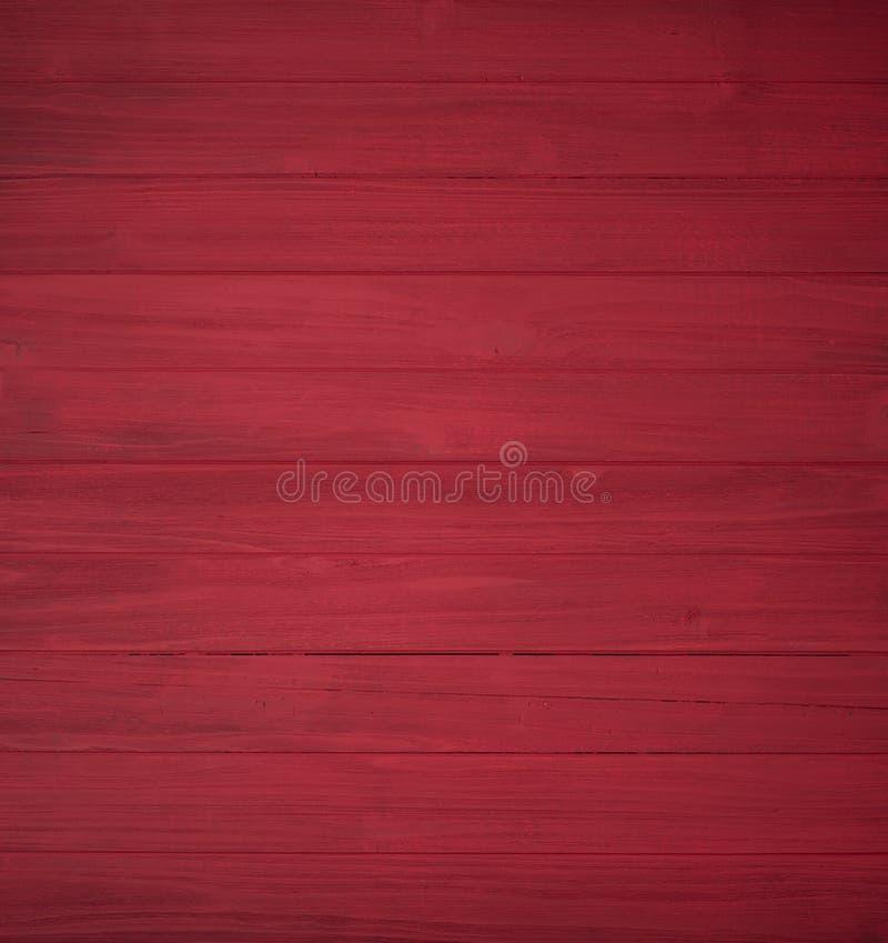 Los tableros de madera rojos y rústicos de Shiplap que ponen horizontal solamente la cosecha es levemente verticales Útil como fo foto de archivo libre de regalías