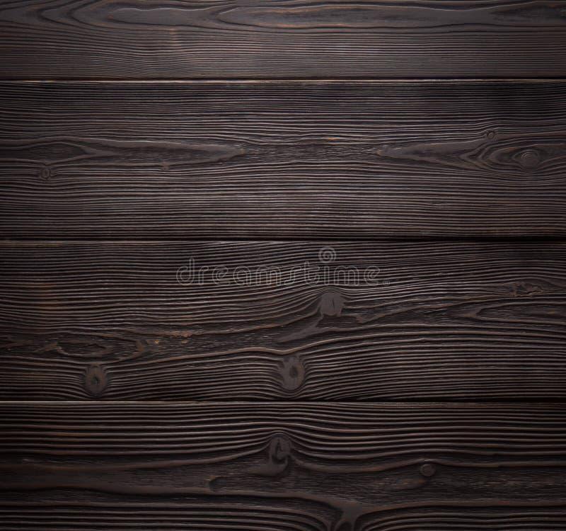 Los tableros horizontales Fondo de madera de la textura fotografía de archivo libre de regalías