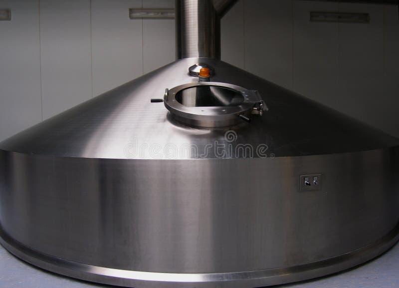 Los tanques de la cerveza imágenes de archivo libres de regalías
