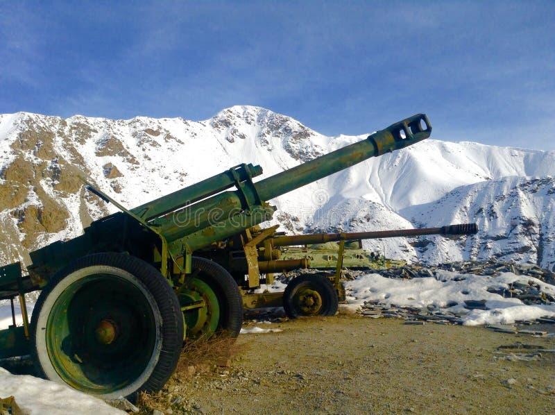 Los tanques usados por el ejército de URSS durante la invasión de Afganistán fotos de archivo