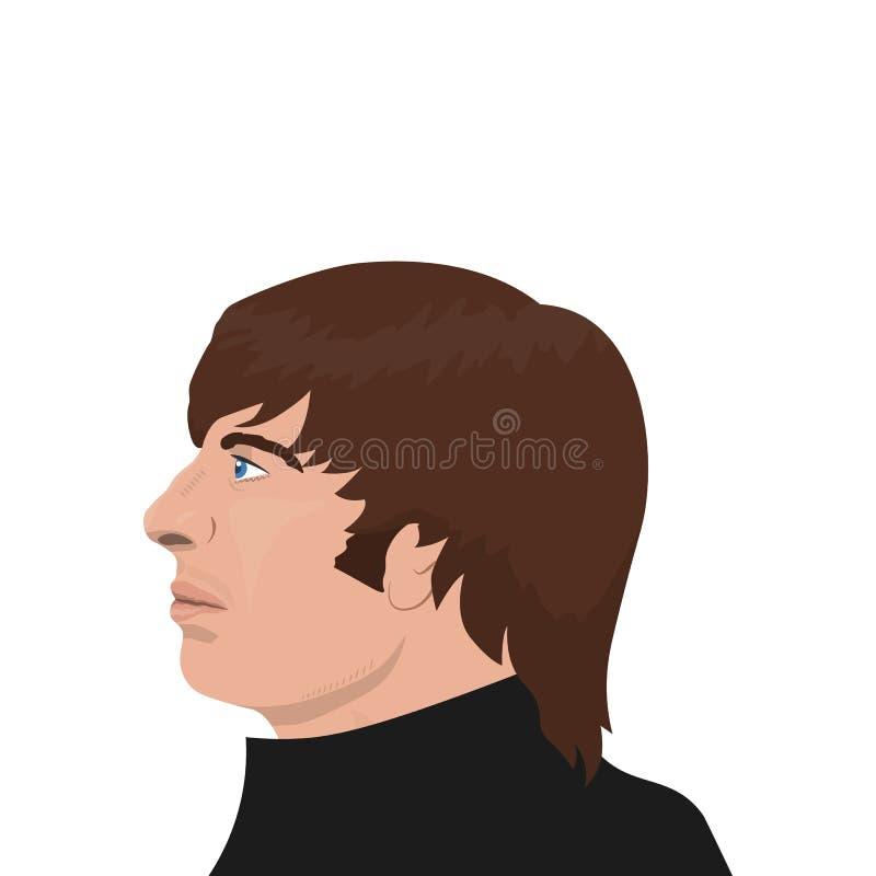 Los temas de la banda de Beatles libre illustration
