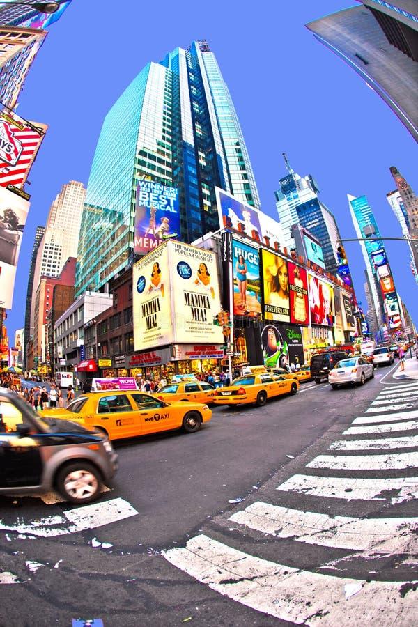 Los Times Square son un símbolo de nuevo imágenes de archivo libres de regalías