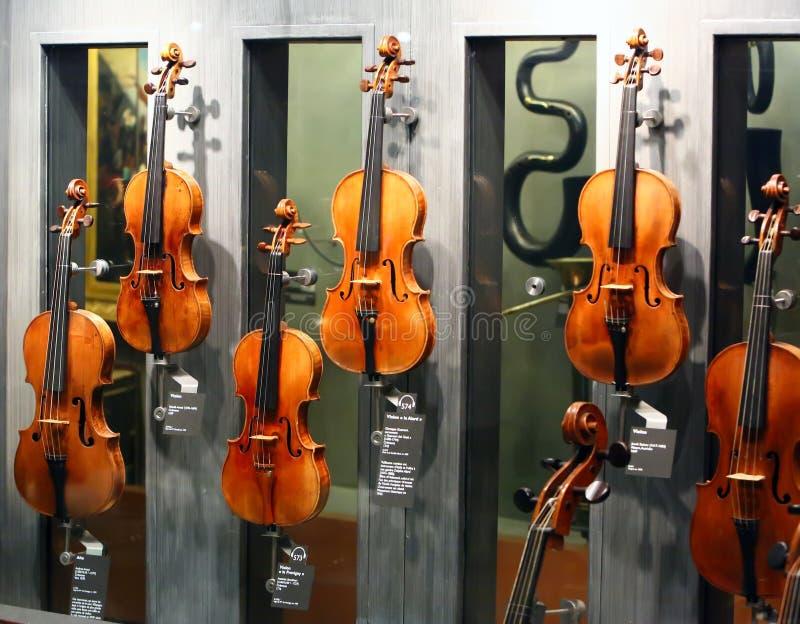 Los violines más famosos fotografía de archivo