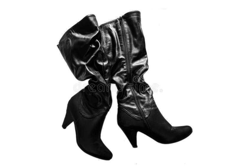 Los zapatos modernos aislaron fotografía de archivo libre de regalías