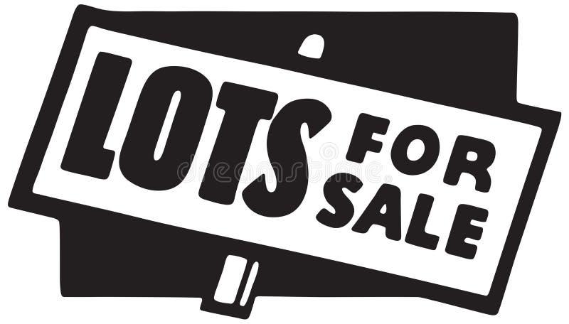 Lose für Verkauf vektor abbildung