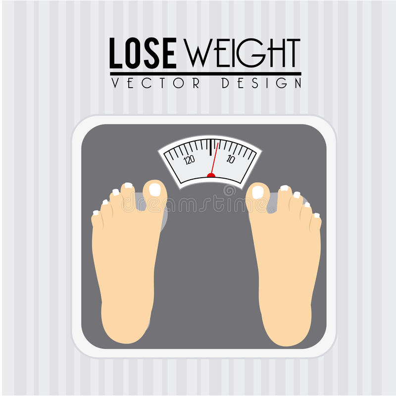 Free Weights Your Design Lyrics: Lose Weight Stock Vector. Image Of Losing, Figure