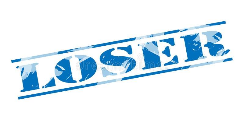 Loser Blue Stamp Stock Illustration. Illustration Of Icon