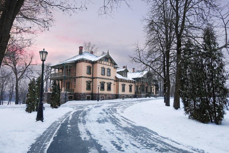 Loshitsa Manor, Belarus, Minsk stock photo