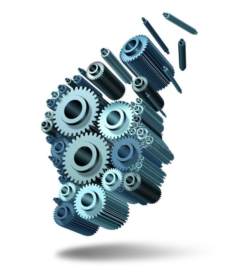 Download Losing Intelligence stock illustration. Image of head - 28938198