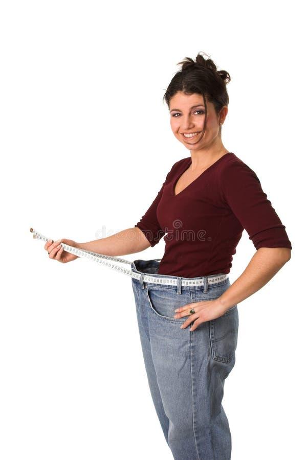 Losing weight royalty free stock photos