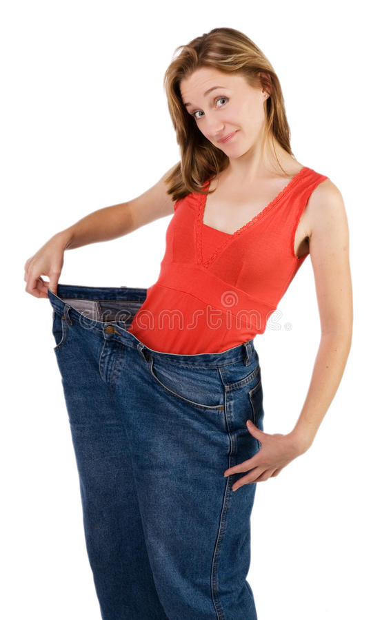 Loss of weight stock photos