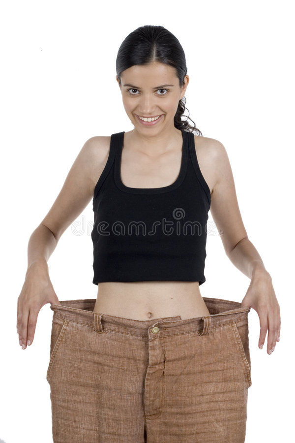 Loss of weight stock photography