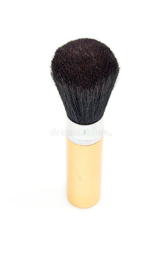 Losse poederborstel stock afbeelding
