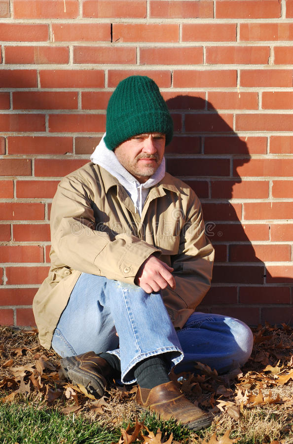 Download Lost stock photo. Image of homeless, alone, outdoor, unemployed - 17809762