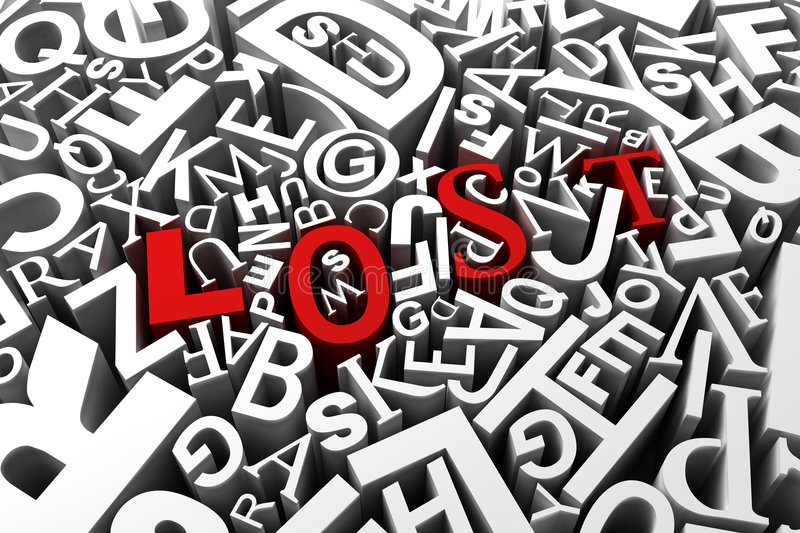 Download Lost stock illustration. Illustration of confusion, conceptual - 9278384