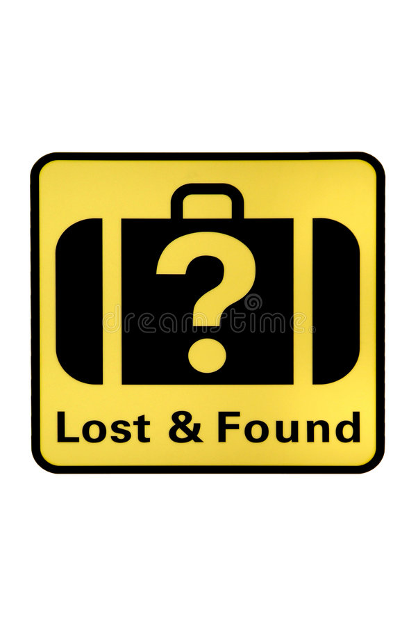 Free Lost And Found Royalty Free Stock Photography - 3751067