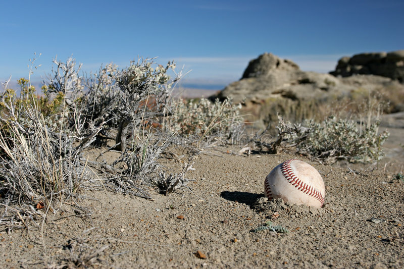 Download Really lost baseball stock image. Image of sandstone, retired - 277897