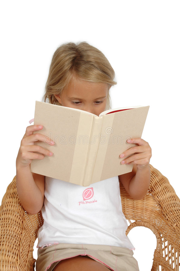 Download Lost in A book stock photo. Image of face, cute, child - 1530424
