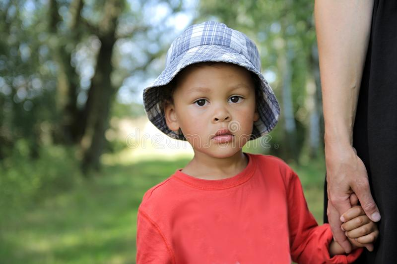 lost child royalty free stock photo