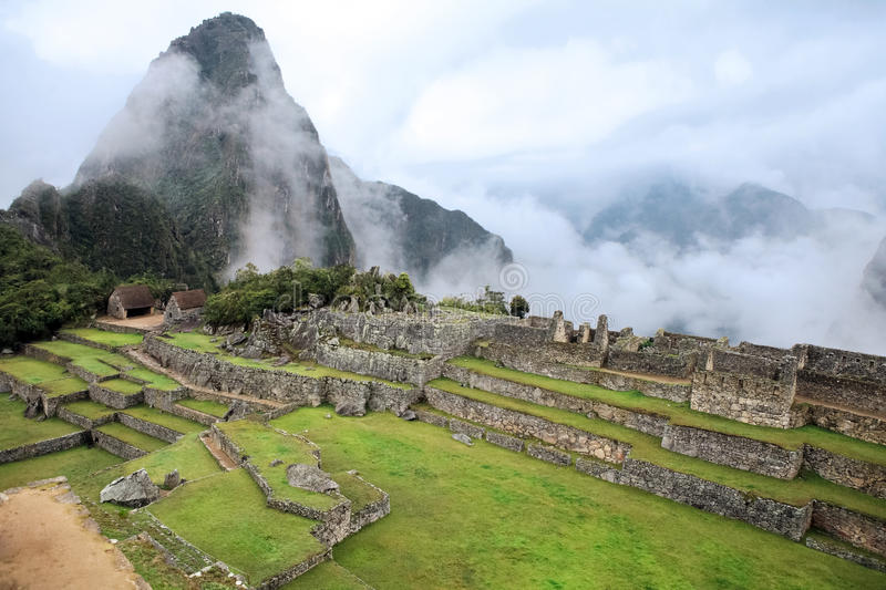Download Lost City Of Machu Picchu - Peru Stock Image - Image: 18227661
