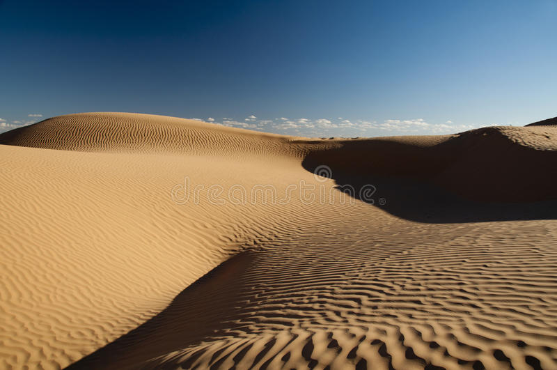 Lost...in the desert royalty free stock photography