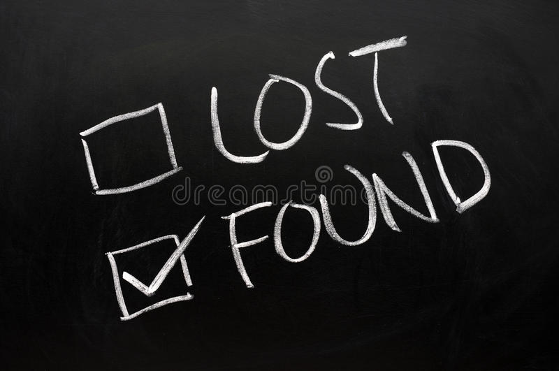 Download Lost And Found Check Boxes Royalty Free Stock Photos - Image: 22618828