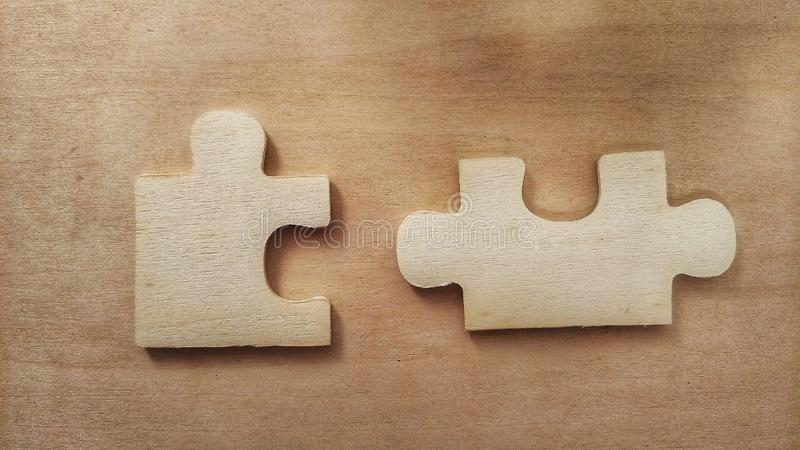 Lost Jigsaw stock photography
