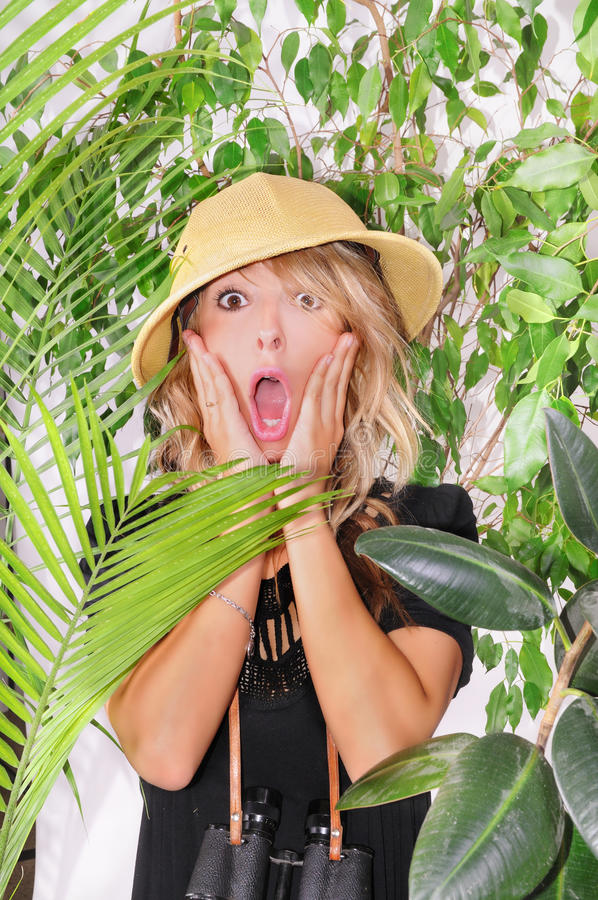 Download Lost in the jungle stock image. Image of exploring, jungle - 10008137