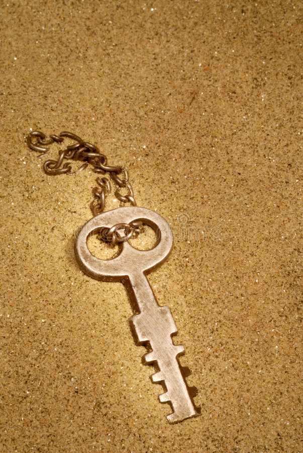 Lost Key royalty free stock photography