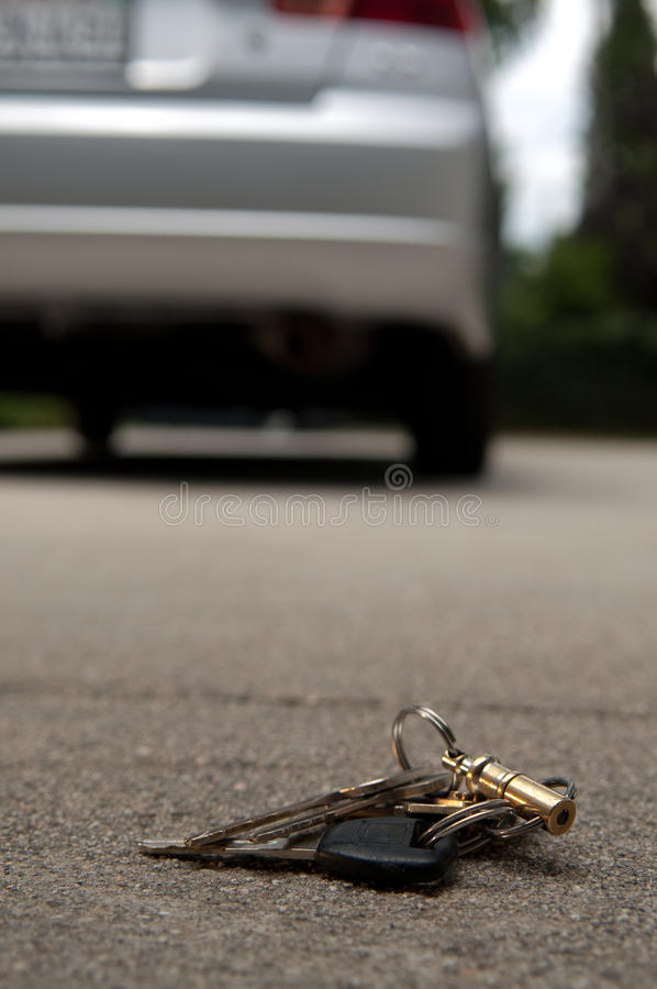 Lost Keys royalty free stock photos