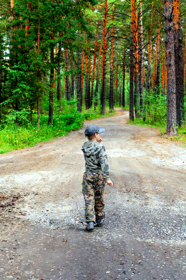 Download Lost Kid stock image. Image of outdoors, around, bearings - 27850015