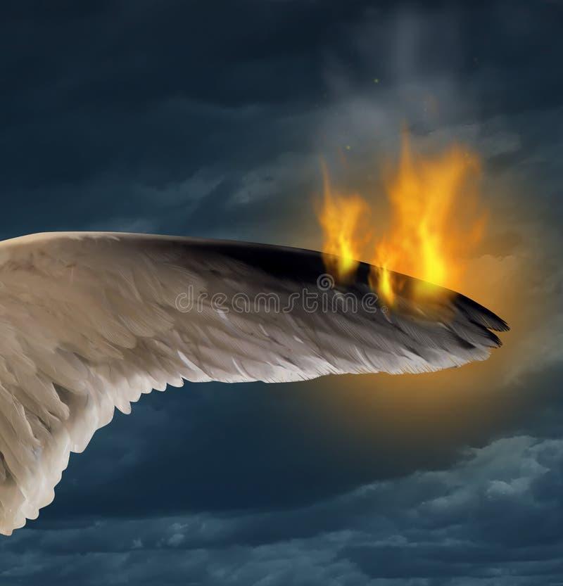 удане фотографировали горящее крыло нанести