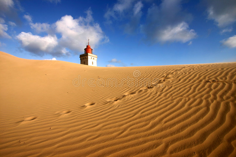 Lost lighthouse stock photos